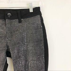 DL1961 Emma Legging Skinny Jeans Python Size 24